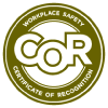 COR — Certificate of Recognition